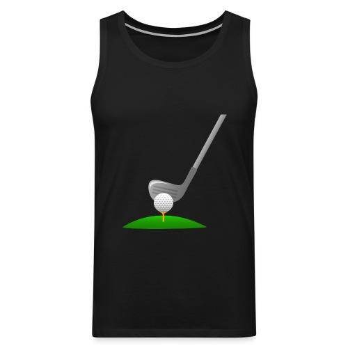 Golf Ball PNG - Tank top premium hombre
