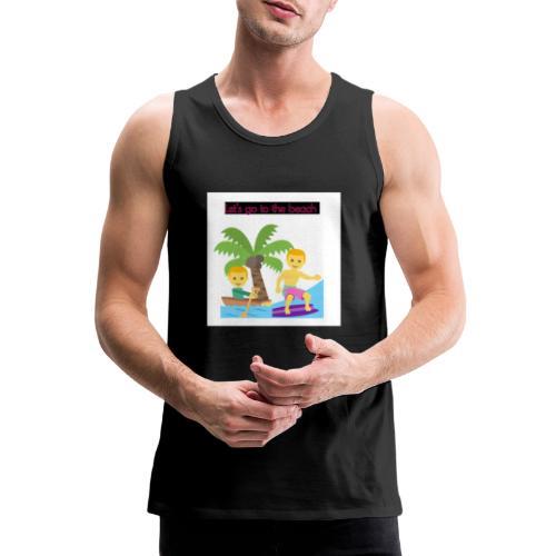 beach - Premiumtanktopp herr