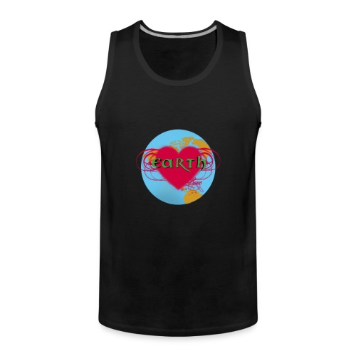 earth love - Männer Premium Tank Top