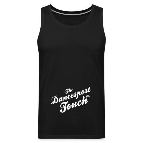 logo dancesporttouch noir - Débardeur Premium Homme
