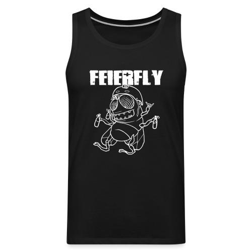 FF_letters_vsmall - Männer Premium Tank Top