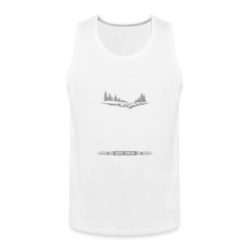 Rocky Mountain Nationalpark Berg Bison Grizzly Bär - Men's Premium Tank Top