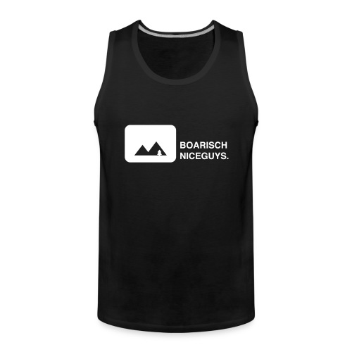 BoarischNiceguys_schwarz - Männer Premium Tank Top