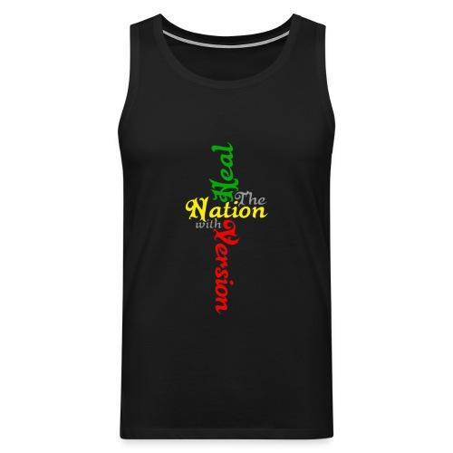 Reggae Healing Gears - Men's Premium Tank Top