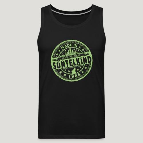 SÜNTELKIND 1966 - Das Süntel Shirt mit Süntelturm - Männer Premium Tank Top