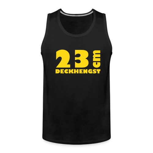 23cm deckhengst - Männer Premium Tank Top