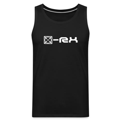 x rx logo shirts png - Männer Premium Tank Top