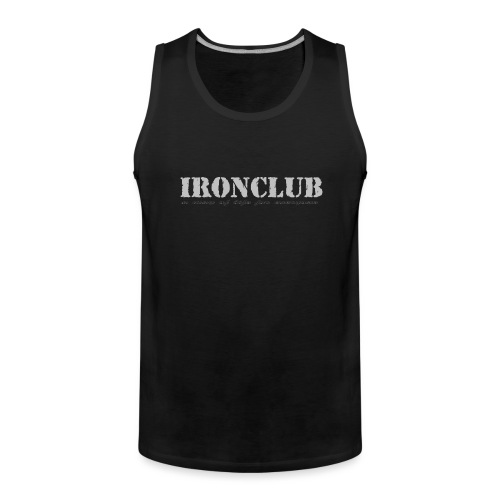 IRONCLUB - a way of life for everyone - Premium singlet for menn