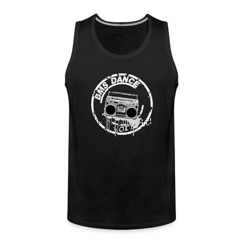 BMS Dance grey - Mannen Premium tank top