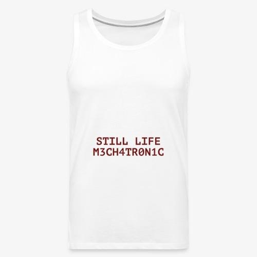 Still Life - Premiumtanktopp herr