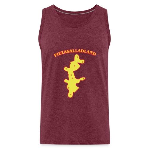 Pizzasalladland - Premiumtanktopp herr