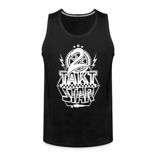 2-Takt-Star / Zweitakt-Star - Men's Premium Tank Top
