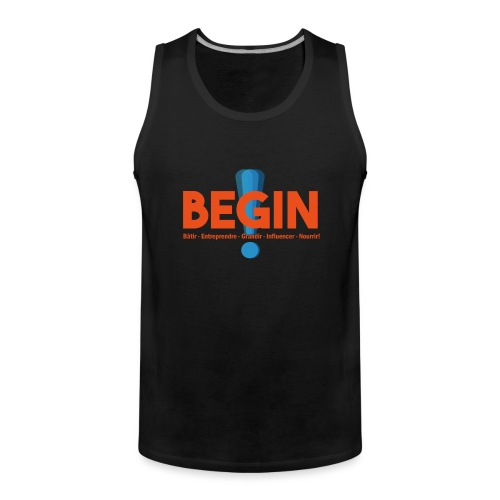 the begin project - Débardeur Premium Homme