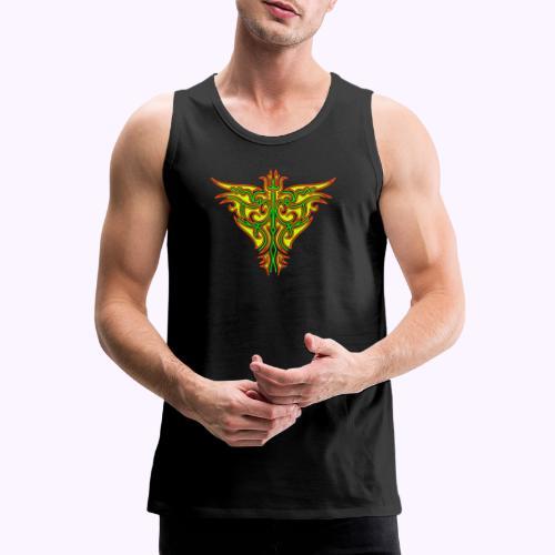 Maorin tulilintu - Miesten premium hihaton paita
