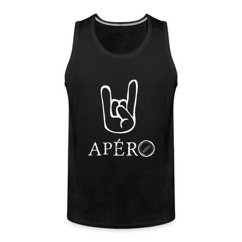 rock and apéro - Débardeur Premium Homme