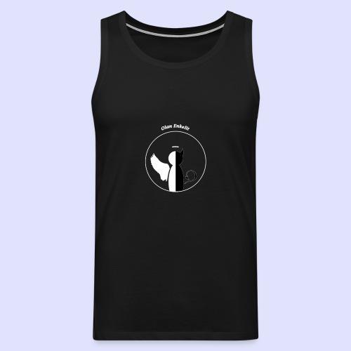 olanenkeli - Miesten premium hihaton paita