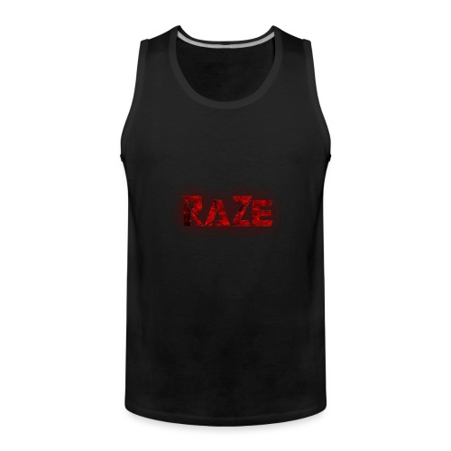 RaZe Logo - Men's Premium Tank Top