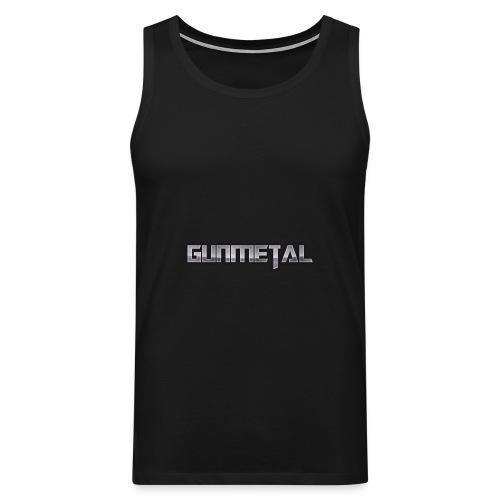 Gunmetal - Men's Premium Tank Top