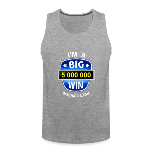 Big Win - Men's Premium Tank Top
