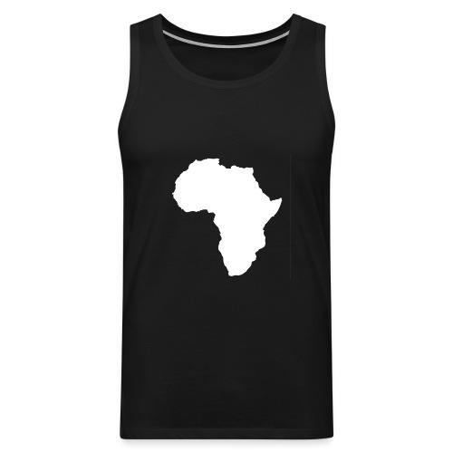 Africa Weiß - Männer Premium Tank Top