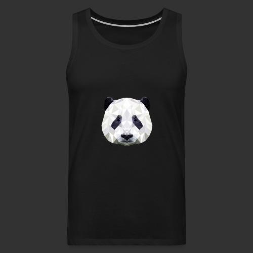 Panda Low Poly - Débardeur Premium Homme
