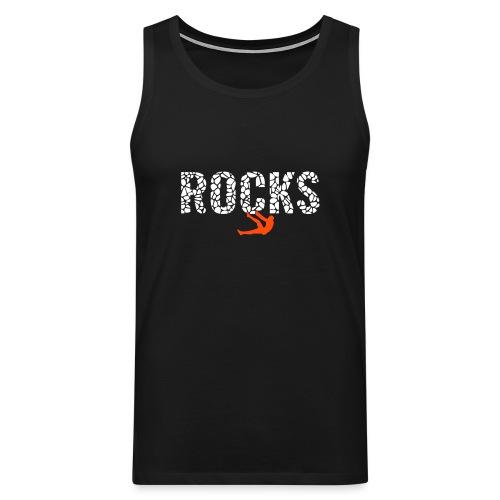 Rocks_4 - Männer Premium Tank Top