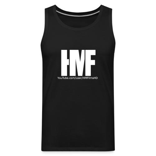 HMFilmsHD Weiß - Männer Premium Tank Top