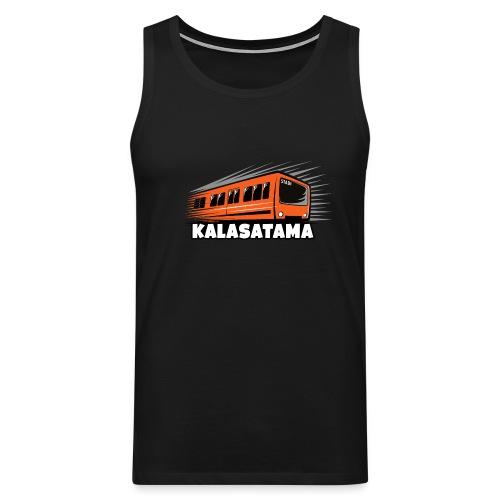 11- METRO KALASATAMA - HELSINKI - LAHJATUOTTEET - Miesten premium hihaton paita