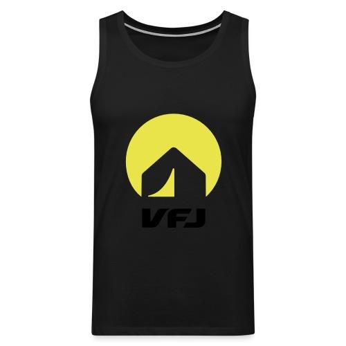 VfJ Logo 2013 shriftschwa - Männer Premium Tank Top