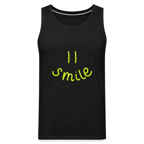 Smile-y - Männer Premium Tank Top