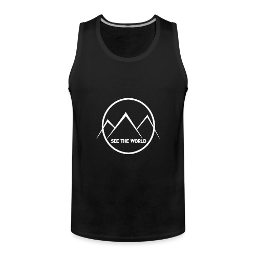 See The World knows - Men's Premium Tank Top