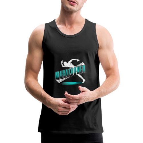 Marathoner - Männer Premium Tank Top