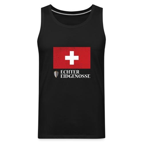Echter Eidgenosse Schweiz - Männer Premium Tank Top
