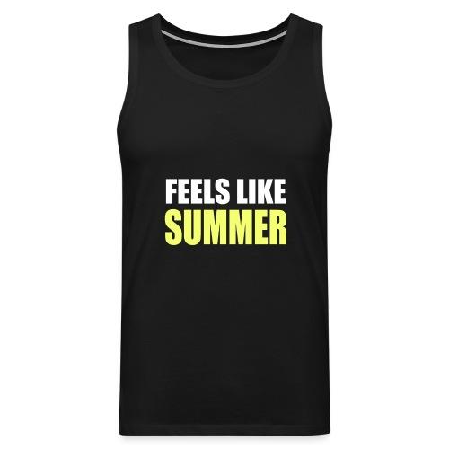 FEELS LIKE SUMMER - Männer Premium Tank Top