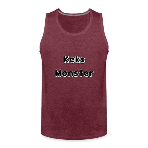 Keks Monster - Männer Premium Tank Top