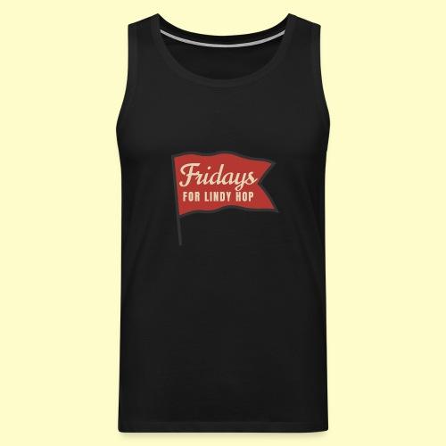 Lindy Hop Swing Tanz Geschenk T-Shirt - Männer Premium Tank Top