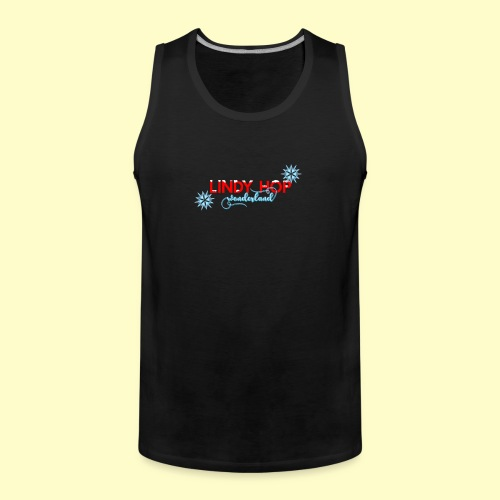 Lindy Hop Wonderland Tanz T-shirt - Männer Premium Tank Top