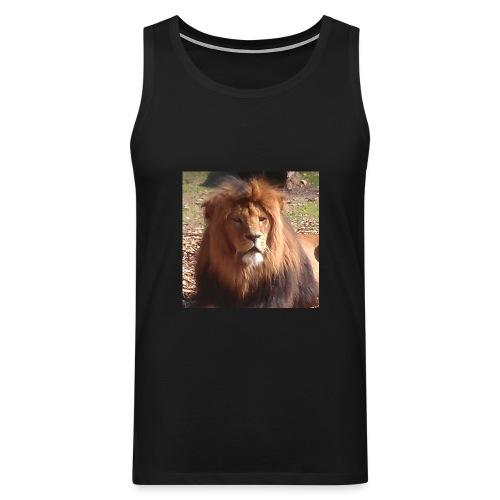 Lejon - Premiumtanktopp herr