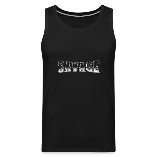 Savage - Männer Premium Tank Top