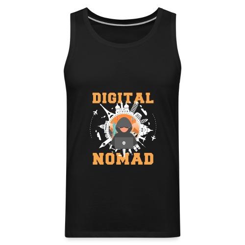 Digital Nomad - Männer Premium Tank Top