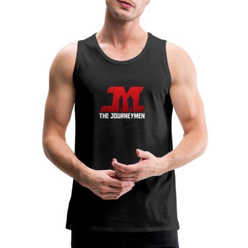 Red White JourneyMen Logo - Men's Premium Tank Top