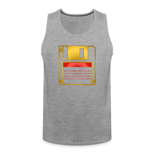 Vain yhden disketin tähden - Miesten premium hihaton paita