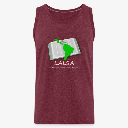 LALSA Light Lettering - Men's Premium Tank Top