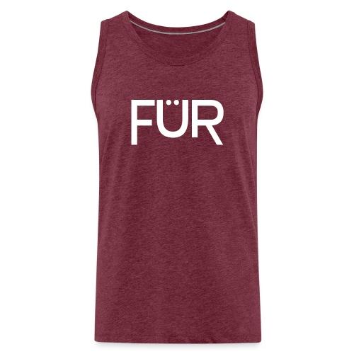 fuer shirt white 01 - Men's Premium Tank Top