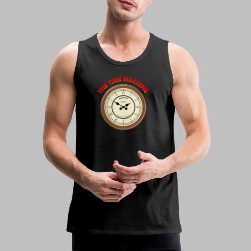 The Time Machine - Men's Premium Tank Top