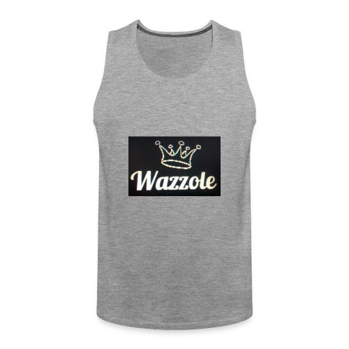 Wazzole crown range - Men's Premium Tank Top