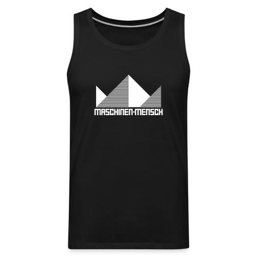 Maschinen-Mensch Logo black - Männer Premium Tank Top