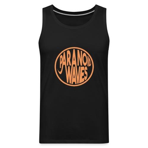 Paranoid Waves - Orange Version - Débardeur Premium Homme
