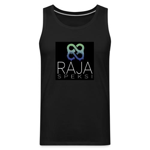 RajaSpeksin logo - Miesten premium hihaton paita
