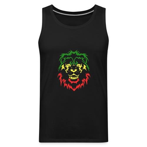 KARAVAAN Lion Reggae - Mannen Premium tank top